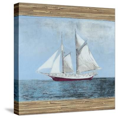 Seagrass Nautical II-Naomi McCavitt-Stretched Canvas Print