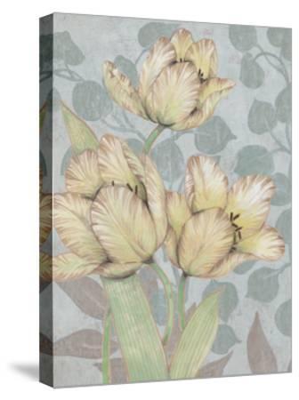 Trois Fleurs II-Tim OToole-Stretched Canvas Print