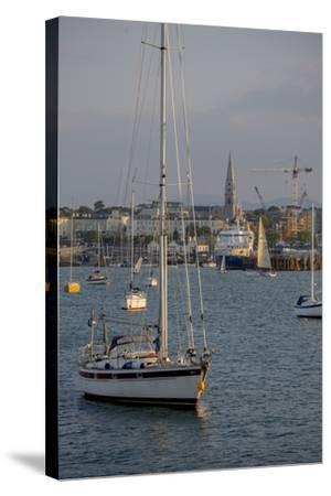 Harbour at Dun Laoghaire, a Suburb of Dublin-Tim Thompson-Stretched Canvas Print