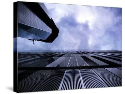 Freedom Tower and Wtc 7, Manhattan, New York City-Sabine Jacobs-Stretched Canvas Print