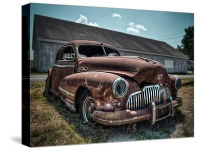 Red Buick-Stephen Arens-Stretched Canvas Print