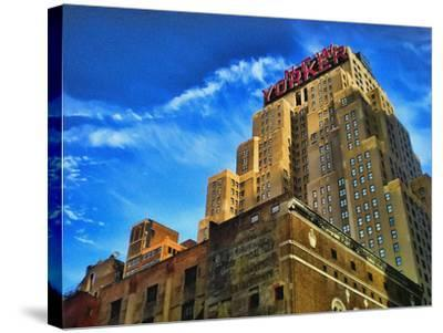 The New Yorker Hotel, New York City-Sabine Jacobs-Stretched Canvas Print