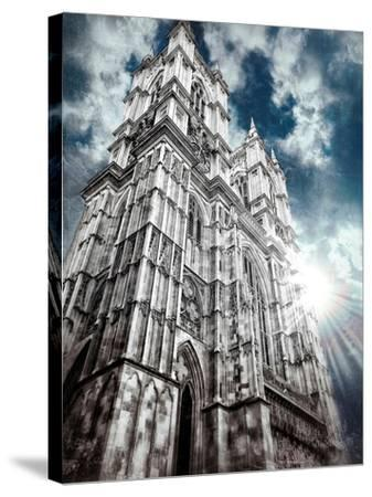 Westminster Abbey-Andrea Costantini-Stretched Canvas Print