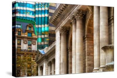 The New York Public Library, Bryant Park, Manhattan, New York Ci-Sabine Jacobs-Stretched Canvas Print