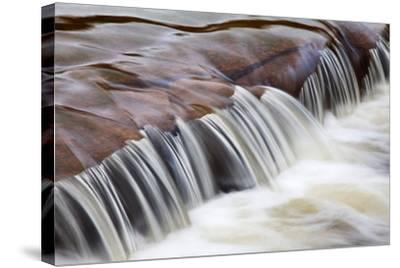 Flowing Water-Mark Sunderland-Stretched Canvas Print