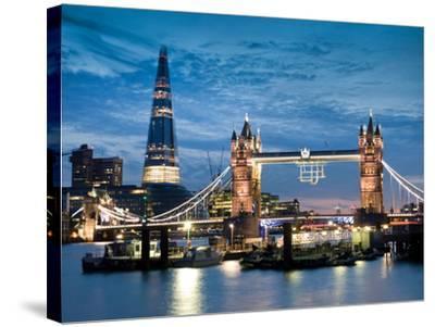 London Bridge-Craig Roberts-Stretched Canvas Print