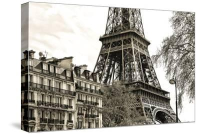 Paris - Eiffel Tower-Philippe Hugonnard-Stretched Canvas Print