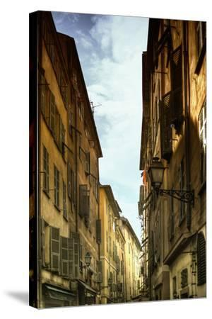 Provencal Street - French Streets - Nice - France-Philippe Hugonnard-Stretched Canvas Print