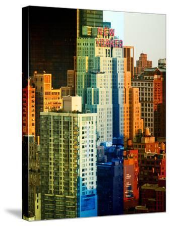 Fine Art, the New Yorker Hotel, Midtown Manhattan, New York City, United States-Philippe Hugonnard-Stretched Canvas Print