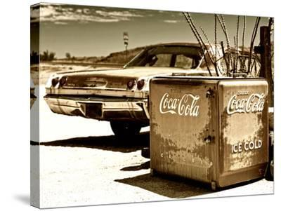 Photography Style, Route 66, Gas Station, Arizona, United States, USA-Philippe Hugonnard-Stretched Canvas Print