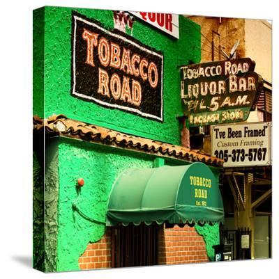 The Tobacco Road - Miami's Oldest Bar - Florida - USA-Philippe Hugonnard-Stretched Canvas Print