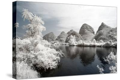 China 10MKm2 Collection - Another Look - Mountain Lake-Philippe Hugonnard-Stretched Canvas Print