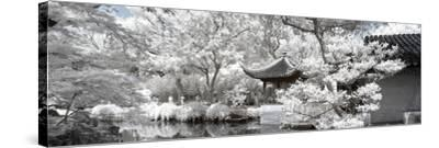 China 10MKm2 Collection - Another Look - White Pavilion-Philippe Hugonnard-Stretched Canvas Print