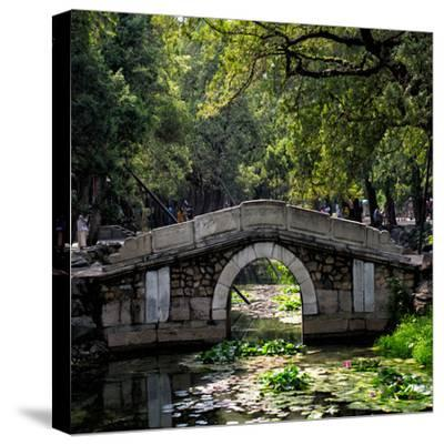 China 10MKm2 Collection - Asian Bridge-Philippe Hugonnard-Stretched Canvas Print