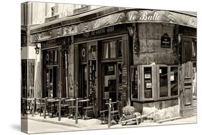 Paris Focus - Parisian Bar-Philippe Hugonnard-Stretched Canvas Print