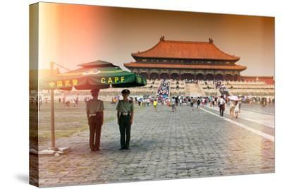 China 10MKm2 Collection - Instants Of Series - Forbidden City-Philippe Hugonnard-Stretched Canvas Print