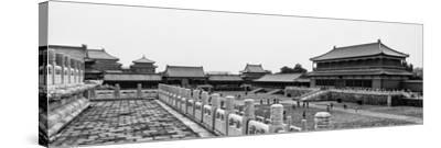 China 10MKm2 Collection - Palace Area of the Forbidden City - Beijing-Philippe Hugonnard-Stretched Canvas Print