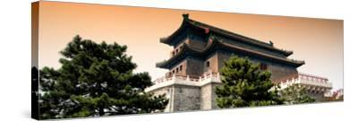 China 10MKm2 Collection - Qianmen - Beijing-Philippe Hugonnard-Stretched Canvas Print