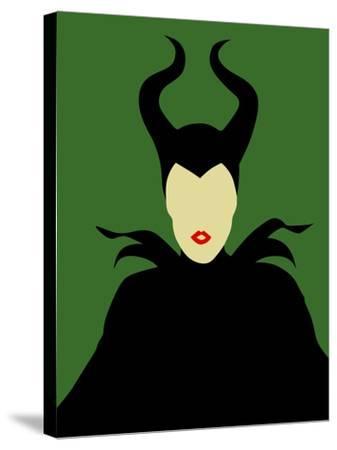 Maleficent-David Brodsky-Stretched Canvas Print