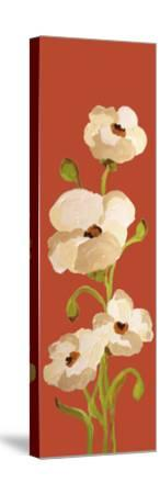 Panels-Red Earth Poppies 2-Soraya Chemaly-Stretched Canvas Print