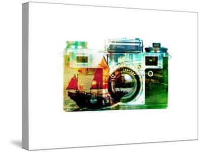 Hong Kong Snapshot-THE Studio-Stretched Canvas Print