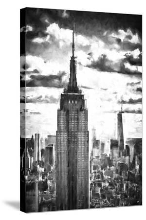 World of Skyscrapers-Philippe Hugonnard-Stretched Canvas Print