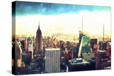 New York Cityscape IV-Philippe Hugonnard-Stretched Canvas Print