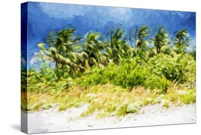 Palm Beach - In the Style of Oil Painting-Philippe Hugonnard-Stretched Canvas Print