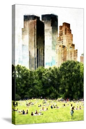 Summer in New York-Philippe Hugonnard-Stretched Canvas Print