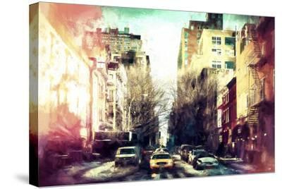 Sunrise Colors NYC-Philippe Hugonnard-Stretched Canvas Print