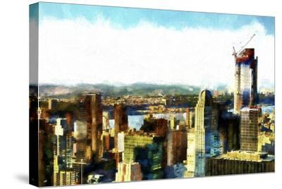 Midtown Manhattan II-Philippe Hugonnard-Stretched Canvas Print