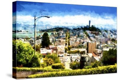 San Franciso-Philippe Hugonnard-Stretched Canvas Print