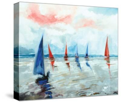 Sailing Boats Regatta-Stuart Roy-Stretched Canvas Print