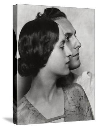 Vanity Fair - December 1922-Nickolas Muray-Stretched Canvas Print