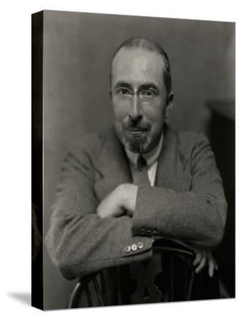 Vanity Fair - November 1926-Nickolas Muray-Stretched Canvas Print