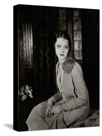 Vanity Fair - June 1927-Florence Vandamm-Stretched Canvas Print