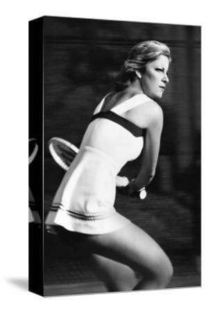 Vogue - August 1977-Stan Malinowski-Stretched Canvas Print