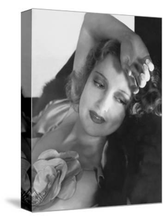 Vanity Fair - December, 1933-Edward Steichen-Stretched Canvas Print
