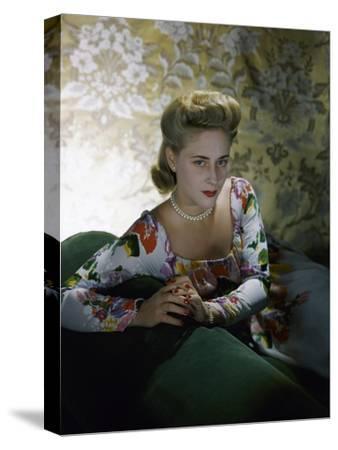 Vogue - July 1941-Horst P. Horst-Stretched Canvas Print
