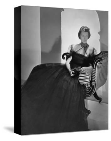 Vogue - May 1938-Horst P. Horst-Stretched Canvas Print