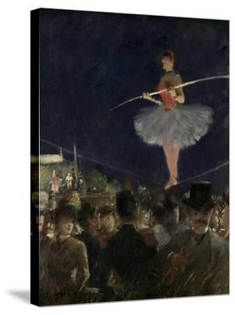 Tight-Rope Walker, C.1885-Jean Louis Forain-Stretched Canvas Print