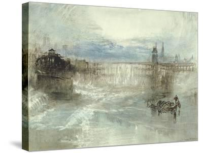 View of Lucerne, 1840-41-J^ M^ W^ Turner-Stretched Canvas Print