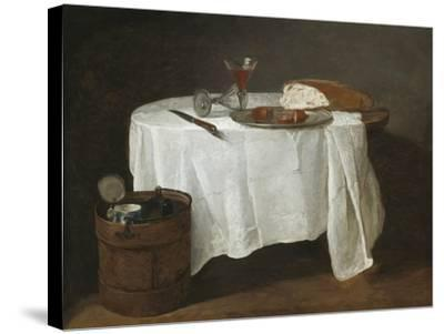 The White Tablecloth, 1731-32-Jean-Baptiste Simeon Chardin-Stretched Canvas Print