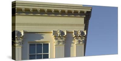 Window and Column Detail, Regents Park, London-Richard Bryant-Stretched Canvas Print