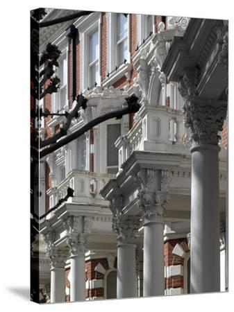 Housing, Kensington, London-Richard Bryant-Stretched Canvas Print