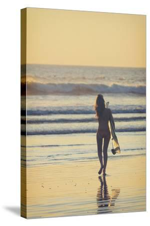 Costa Rica, Guanacaste, Nicoya Peninsula, Nosara, Playa Guiones-Michele Falzone-Stretched Canvas Print