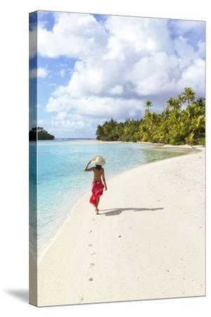 One Foot Island, Aitutaki, Cook Islands (Mr)-Matteo Colombo-Stretched Canvas Print