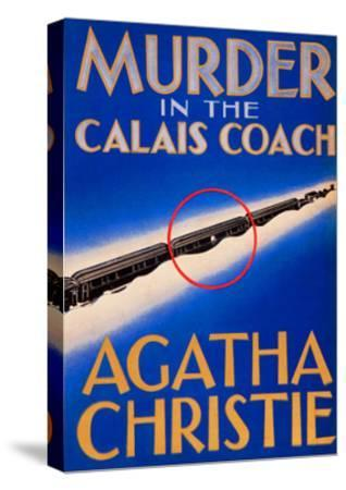 Murder in the Calais Coach--Stretched Canvas Print