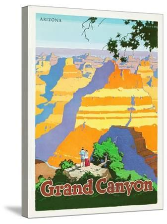 Grand Canyon-Oscar M^ Bryn-Stretched Canvas Print