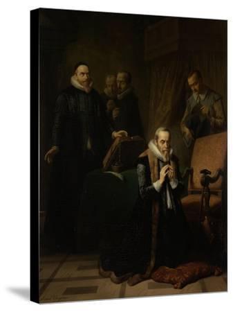 Last Prayer of Johan Van Oldebarneveldt-Simon Opzoomer-Stretched Canvas Print